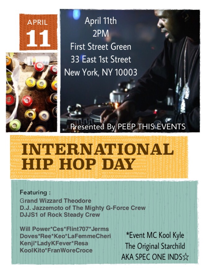 PeepThis International Hip Hop Day